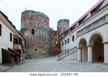 Castle Is A Complex Consisting Of The Ruins Of An Earlier Castle And A Later Palace On The Outskirts