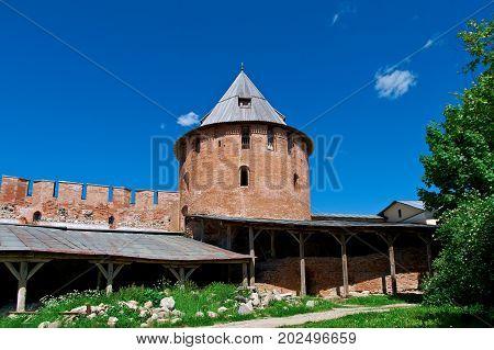 Veliky Novgorod. Novgorod Kremlin .Russia  russian architecture