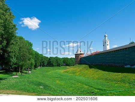 Veliky Novgorod. Novgorod Kremlin .Russia, russian travel