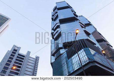 Lippo Centre Towers, Hong Kong