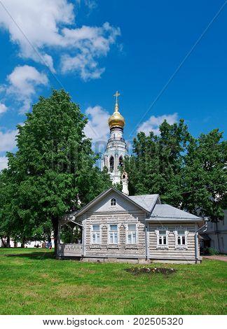 Kremlin Square in Vologda, Russia. russian travel