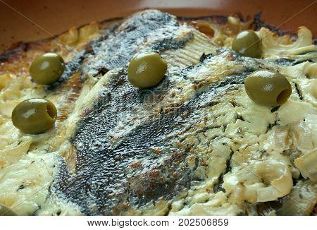Flounder Baked