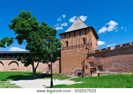 Veliky Novgorod. Novgorod Kremlin.Russia , russian travel