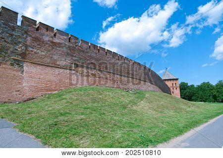 Veliky Novgorod. Novgorod Kremlin. Russia,  russian architecture