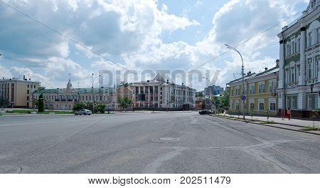 historic building - Vologda city Russia ,  russian architecture