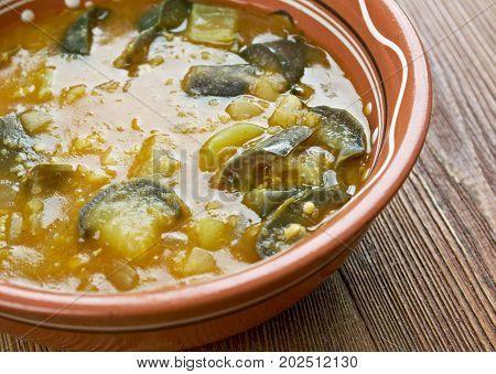 Iraqi Eggplant And Seitan Stew