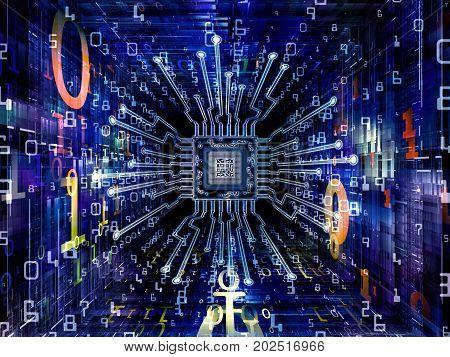 Petals Of Digital Processor