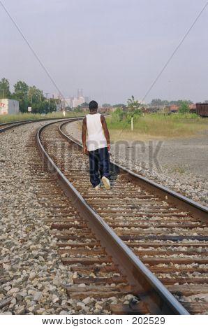 Walking On The Tracks