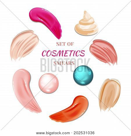 Collection Of Cosmetic Smears