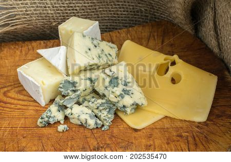 Collection Of Three Cheese