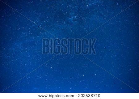 Night Sky With Many Stars