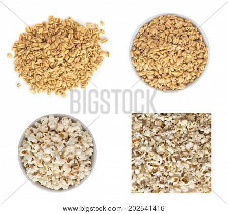Puffed Wheat Snacks