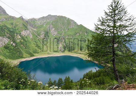 Lake Tremorgio On Canton Ticino