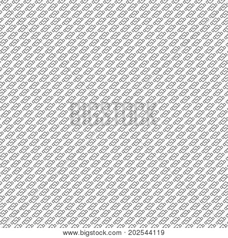 Vector seamless pattern. Abstract small textured background. Modern diagonal repeating geometrical texture with repetition zigzag shapes rhombuses. Surface for wrapping paper shirts cloths.