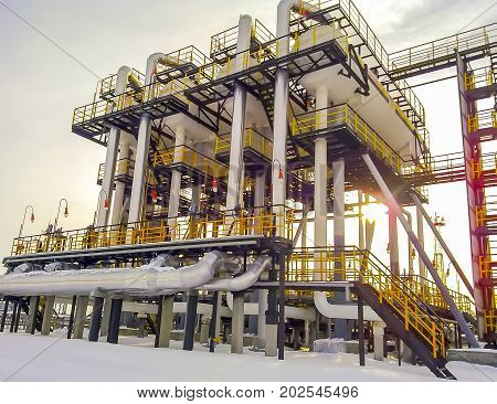 Separators Are End. Equipment For Oil Separation. Modular Oil Treatment Unit. Bulite For Separation.