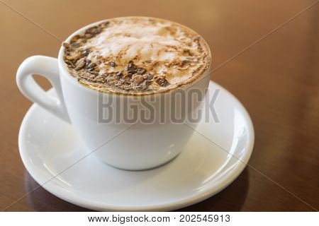 A Cupof Cappuccino Coffee