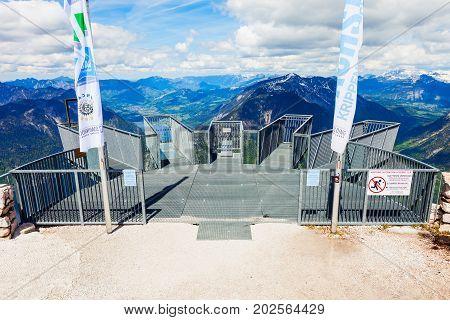 Dachstein Mountains In Austria