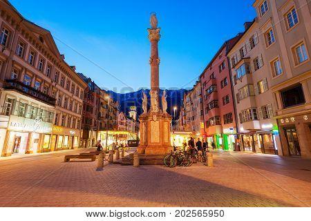St. Anna Column, Innsbruck
