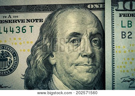 American bank notes. Bank Casino Cash. Dollar