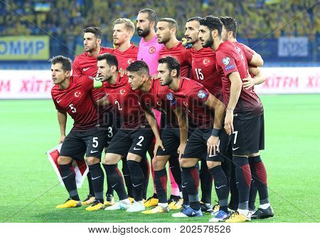 Fifa World Cup 2018 Ukraine Vs Turkey In Kharkiv, Ukraine