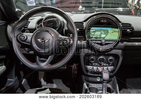 Mini Cooper Car Dashboard