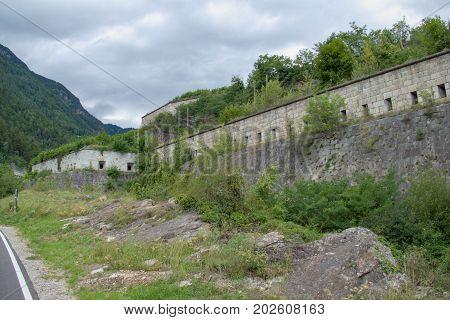 Fortezza Franzensfeste Fortification In Sud Tirol