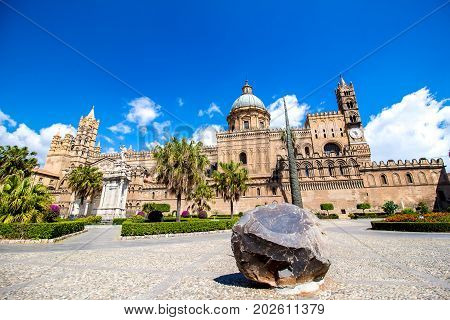 Metropolitan Cathedral of the Assumption of Mary in Palermo Italy