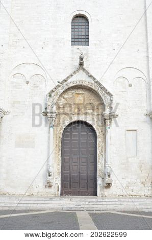 Basilica Church of St. Nicola. Bari. Puglia. Italy