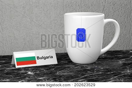 Big Mug With Tea