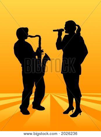 Sax Singer-Bg