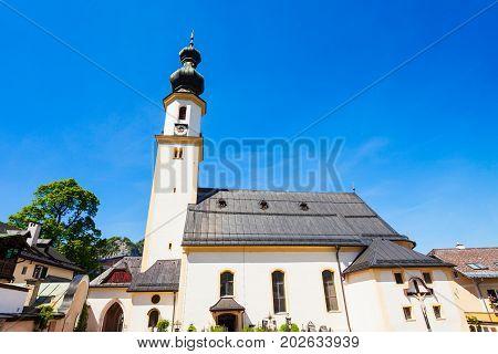 Church In St. Gilgen