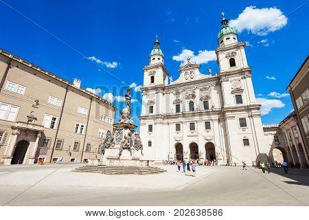 Salzburg Cathedral In Salzburg