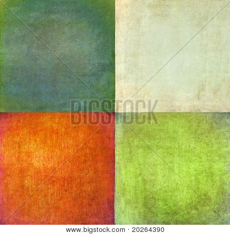 earthy squares background and design element