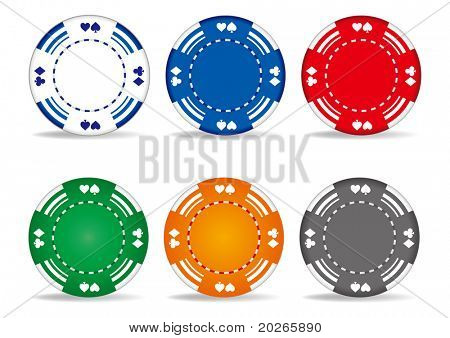 casino elements,gambling chips