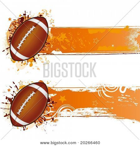 vector football design element
