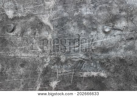 Brushed Metal Background, Texture Of Polished Iron Sheet Or Stainless Steel
