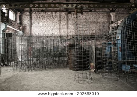 Workshop of concrete batching plant