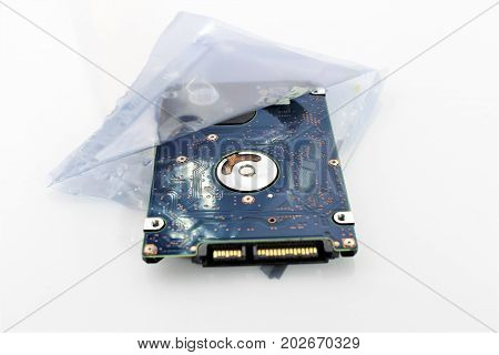 An Image of hard drive - disk
