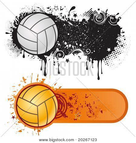 volleyball sport design element