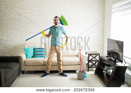Ready To Sweep The Floor