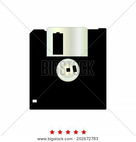 Floppy Disk It Is Icon .