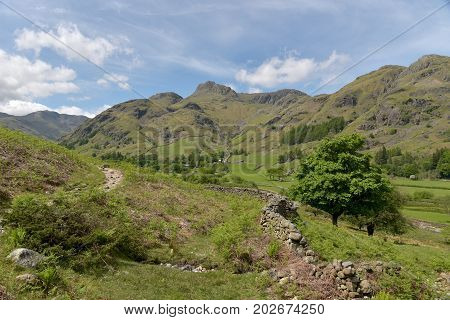 Great Langdale and Pikes, English Lake District