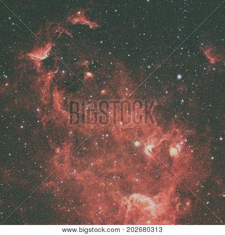 The North America Nebula In The Constellation Cygnus