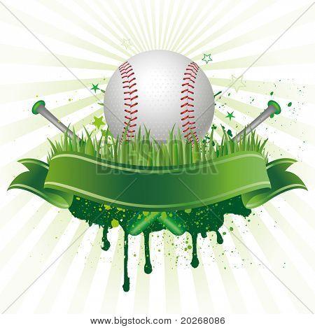 vector baseball sport design element