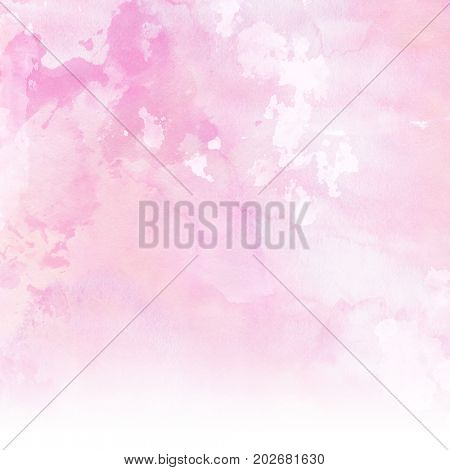 Pastel pink watercolour texture background