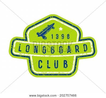 Badge Of Longboard Club