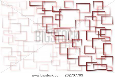 Squares background Modern design vector illustration with Room For Your Text