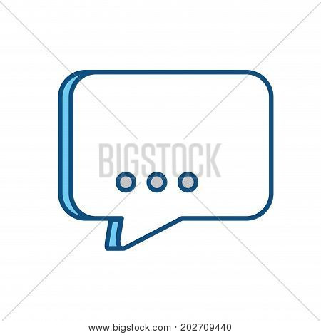 colorful  chat bubble  over white  background  vector illustration