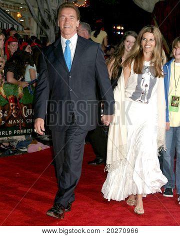 LOS ANGELES - JUN 14:  Arnold Schwarzenegger, Maria Shriver at the