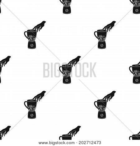 Blender, single icon in black style.Blender, vector symbol stock illustration .